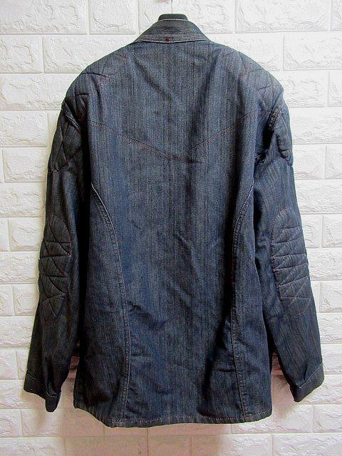 ♪60S ビンテージ キルティング付き グリッパージップ 薄手デニム ワークジャケット米製L_画像3