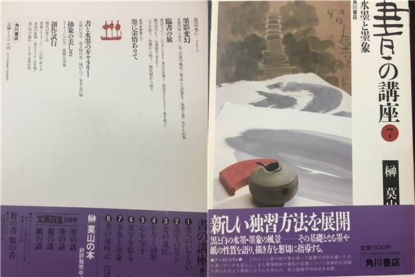 【J770】1円~売切★書の講座 全8巻  榊莫山 角川書店_画像8