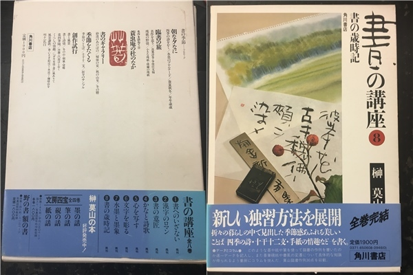 【J770】1円~売切★書の講座 全8巻  榊莫山 角川書店_画像9
