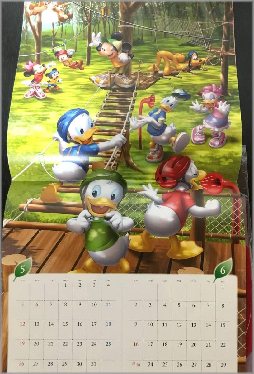【送料無料】非売品 ディズニー ミッキー カレンダー2019とPoinco卓上カレンダー★ドコモ dポイントクラブ _画像2