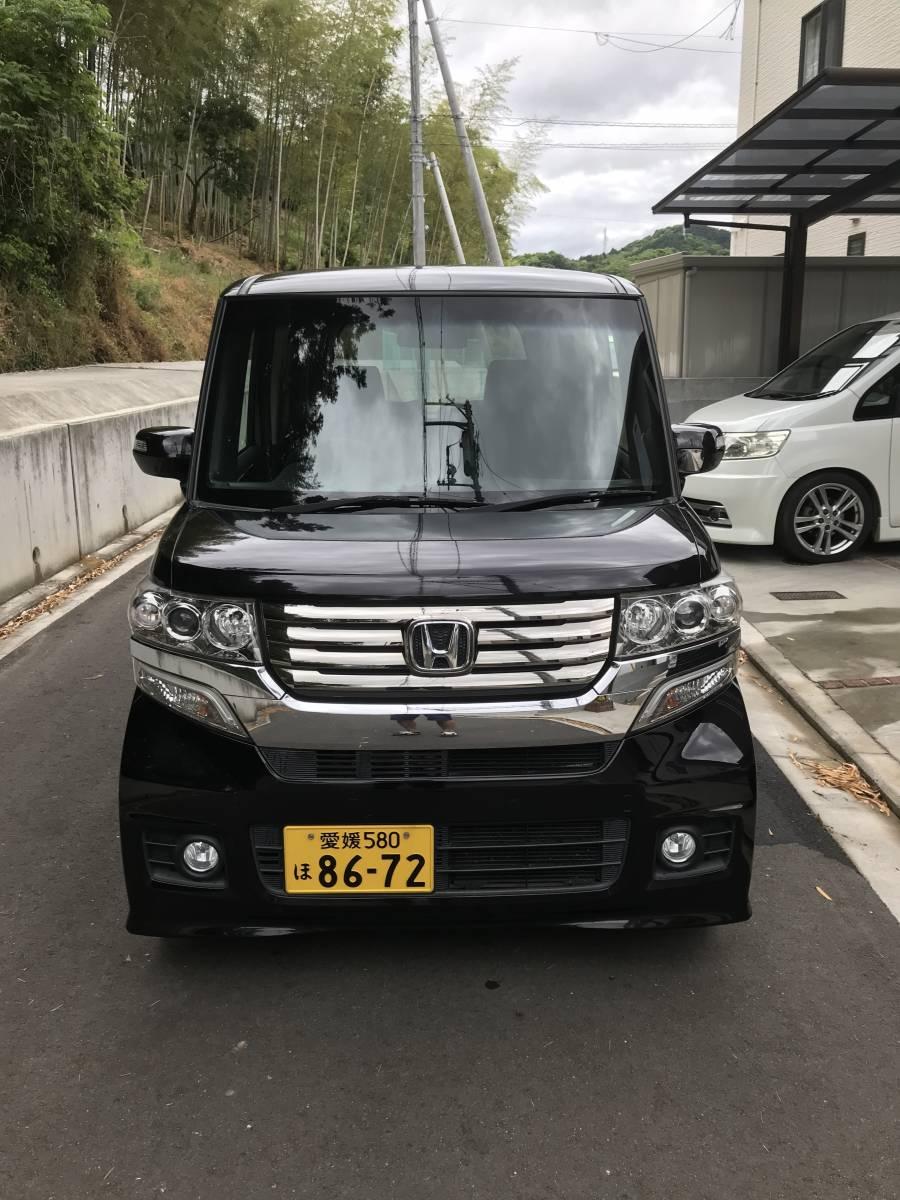 25年式 NBOX カスタム ターボ 38500㎞ 車検平成32年10月