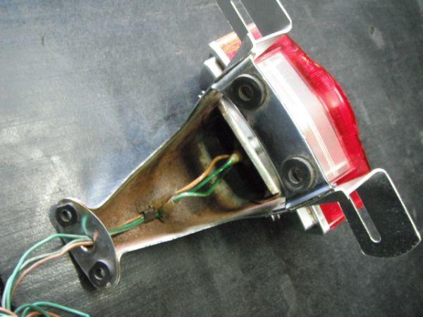 ホンダ CB750FOUR  テールランプ 実動品(昭和名車絶版 K2 k4 K6 フォア 国内 返品可能 実動走行車両より_画像6