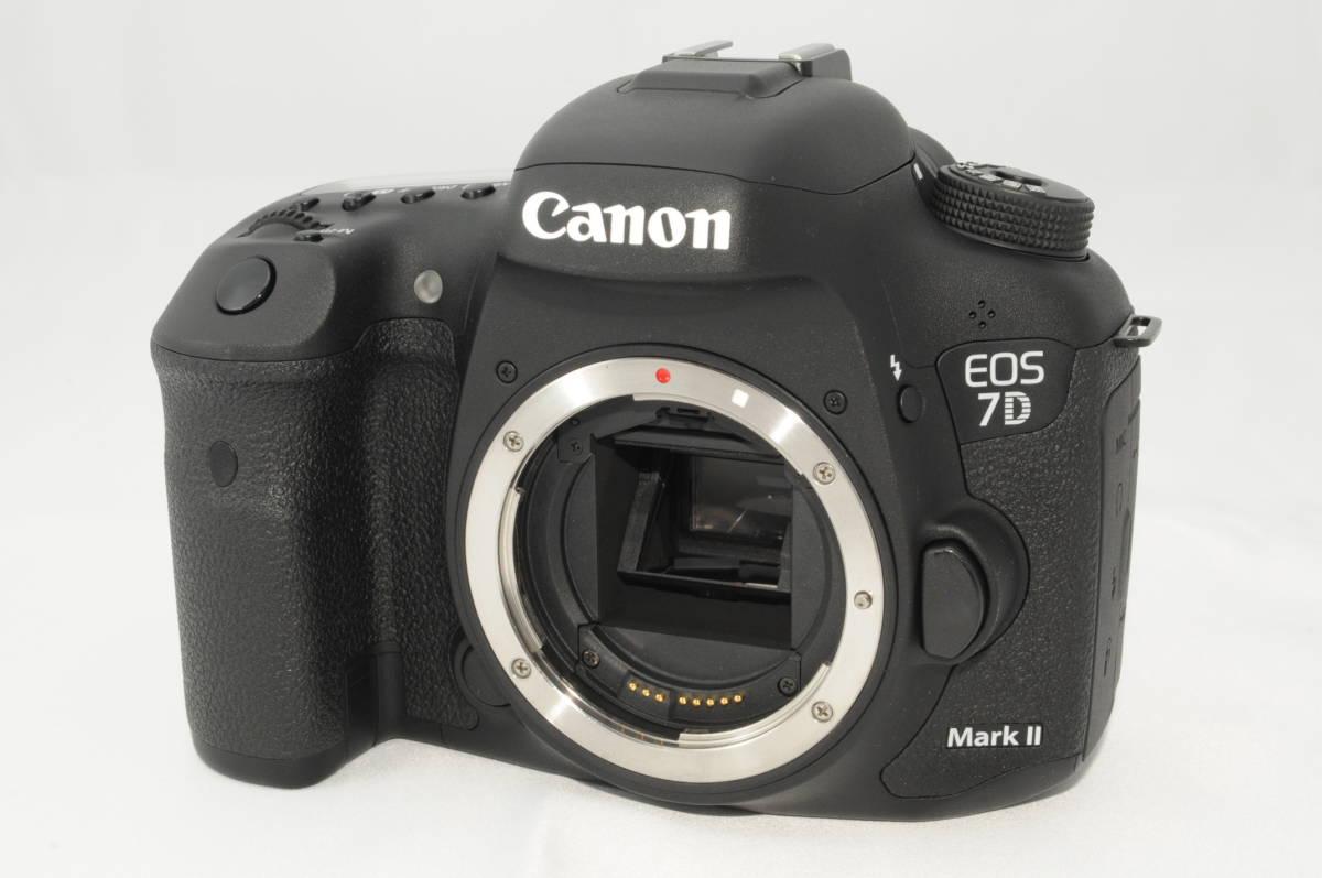 ★新品級★ Canon キヤノン EOS 7D Mark II マーク 2 標準&望遠ダブルレンズセット ワンオーナー 新品と見間違う程のきれいなボディ #001_画像2