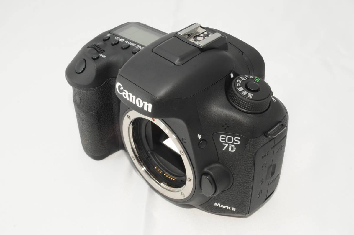 ★新品級★ Canon キヤノン EOS 7D Mark II マーク 2 標準&望遠ダブルレンズセット ワンオーナー 新品と見間違う程のきれいなボディ #001_画像6