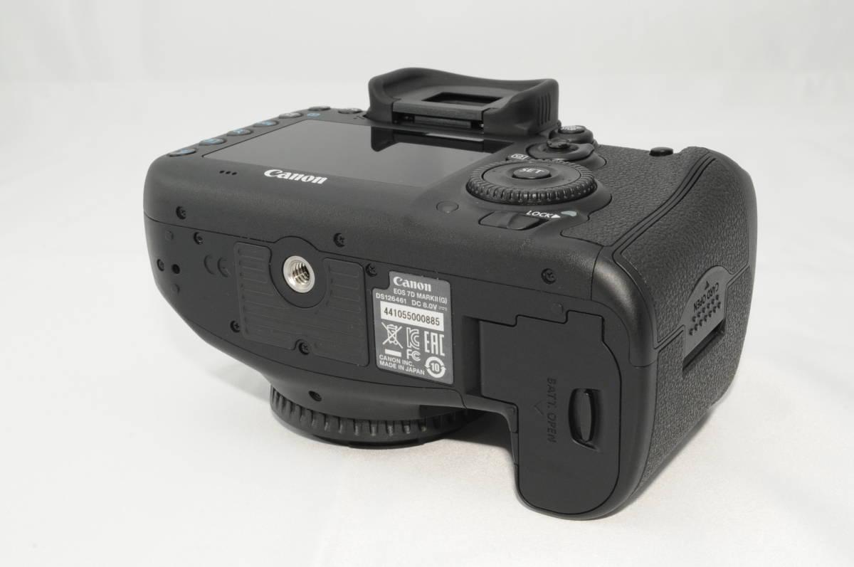 ★新品級★ Canon キヤノン EOS 7D Mark II マーク 2 標準&望遠ダブルレンズセット ワンオーナー 新品と見間違う程のきれいなボディ #001_画像5