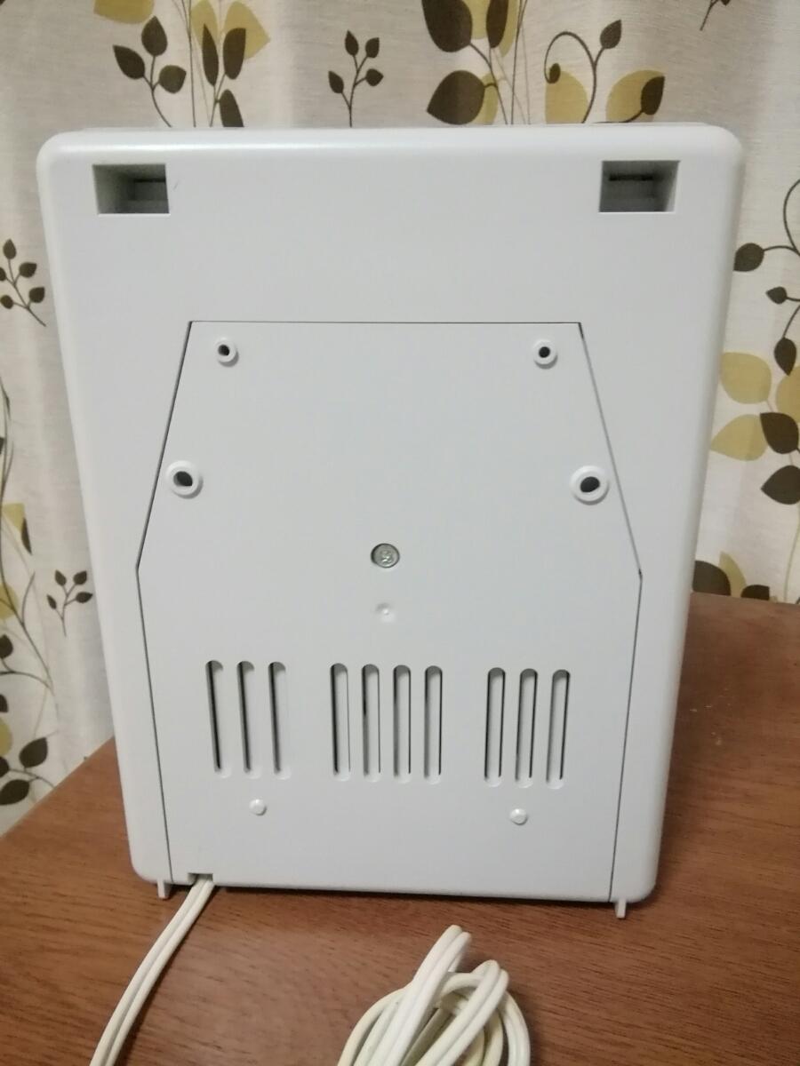 マックス タイムレコーダ ER-110SIV ホワイト タイムカード99枚おまけ付き 美品_画像4
