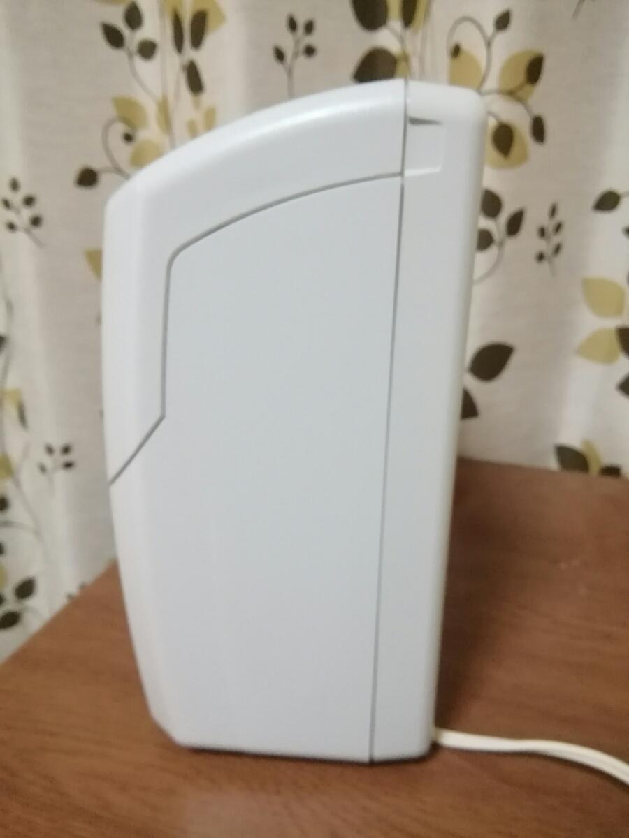 マックス タイムレコーダ ER-110SIV ホワイト タイムカード99枚おまけ付き 美品_画像5