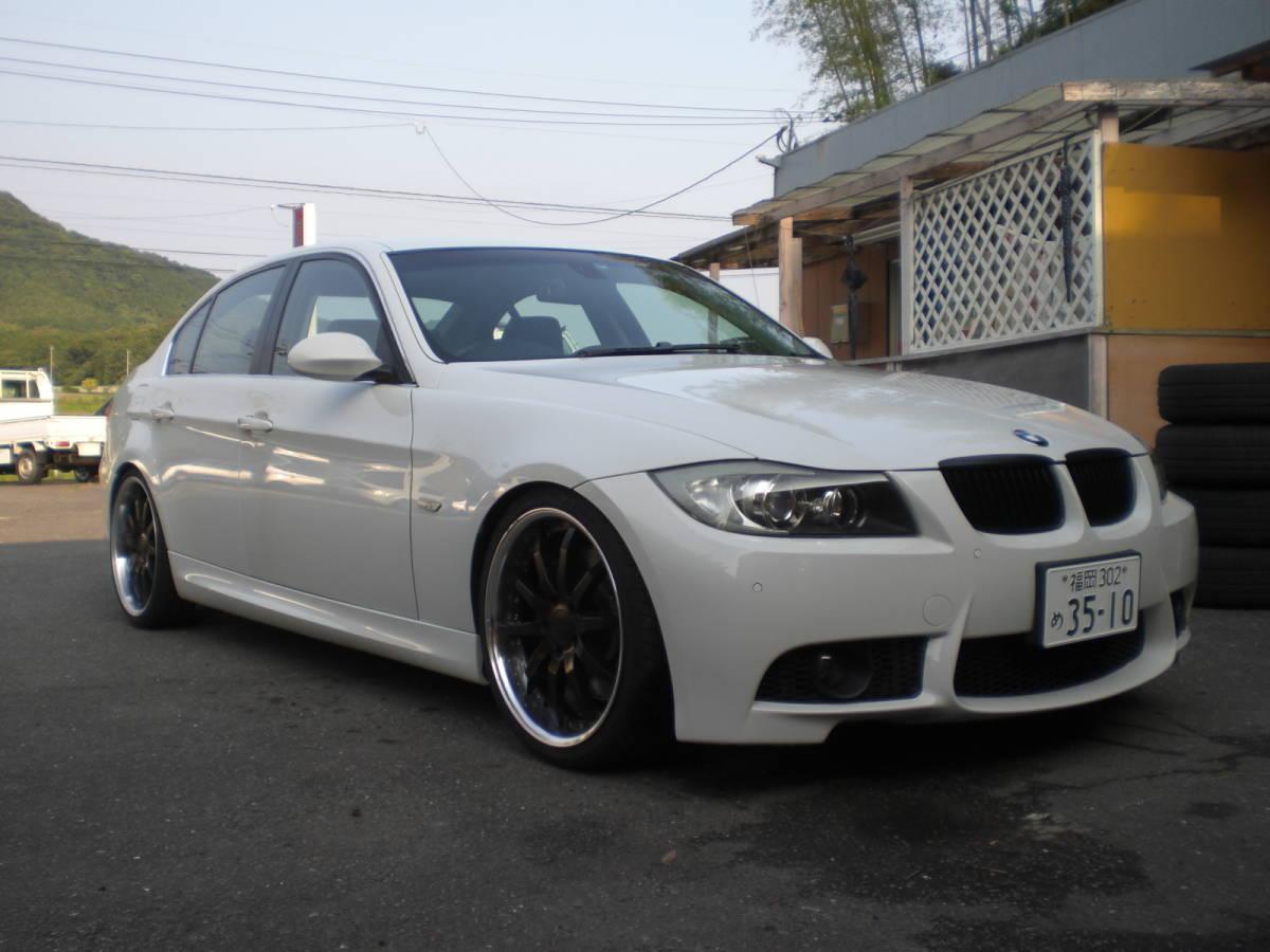 伝統の直6ツインターボ BMW 335i E90 VB35 車検取立て令和3年6月まで ビルシュタイン 19インチワークグノーシス_画像2
