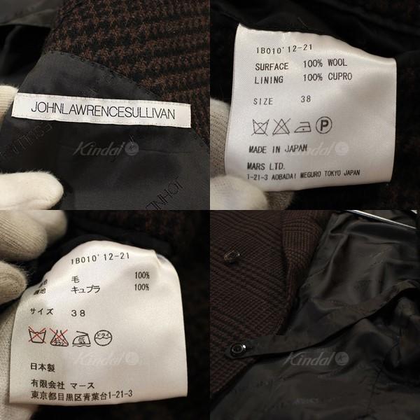青山) JOHN LAWRENCE SULLIVAN ジョンローレンスサリバン 2012AW 切替 チェック ダブルジャケット 8073000023166_画像6
