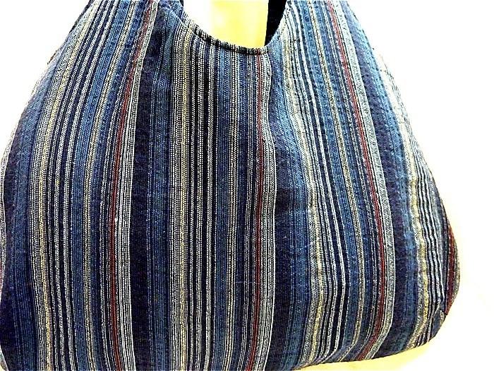 お針箱 e78ちょこっとバッグ 古布 浴衣 期間限定 リバーシブル ハンドメイド サイドバッグ_画像3
