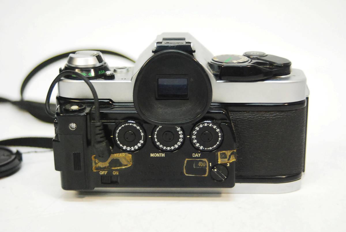 ◆◇キャノン ボディ レンズ Canon AE-1 PROGRAM  LENS FD 28mm 1:2.8 データバッグ付き ◇◆_画像3