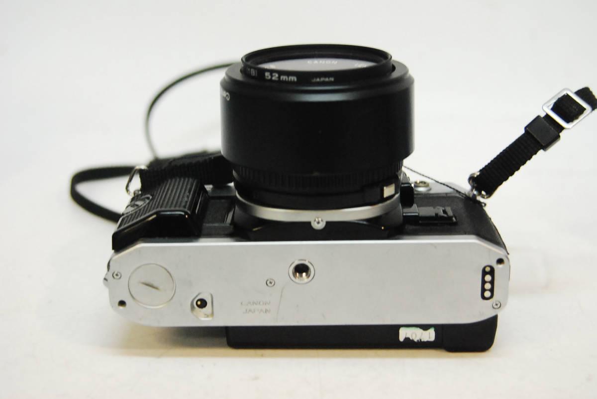 ◆◇キャノン ボディ レンズ Canon AE-1 PROGRAM  LENS FD 28mm 1:2.8 データバッグ付き ◇◆_画像5