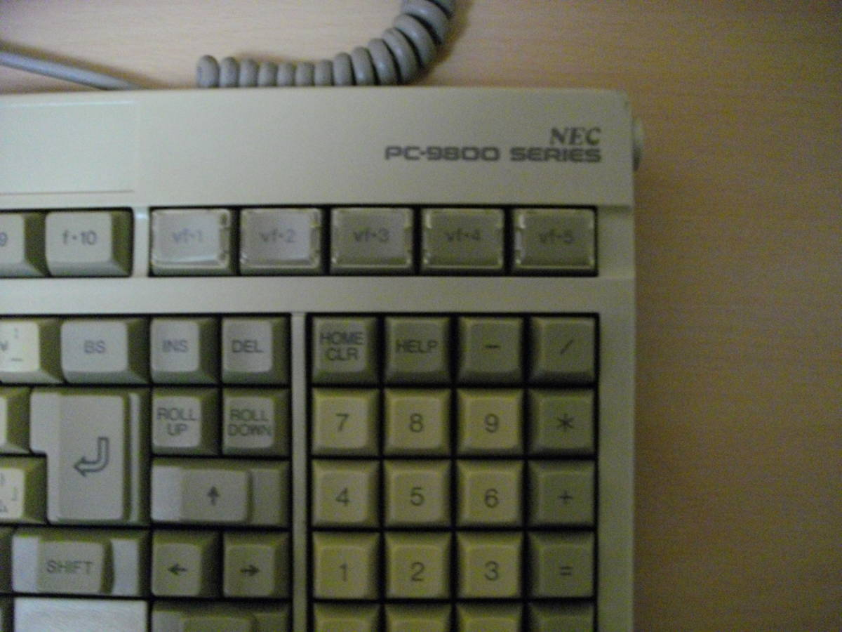 PC98用キーボード 動作未確認ジャンク 98-2_画像2