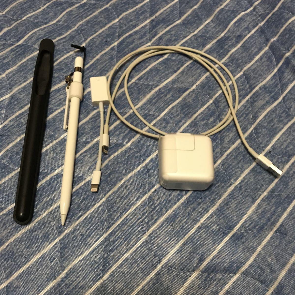 美品 iPad Pro 10.5インチ 258GB スペースグレーau Smart Keyboard Pencil 豪華セット MPHG2J/A_画像4