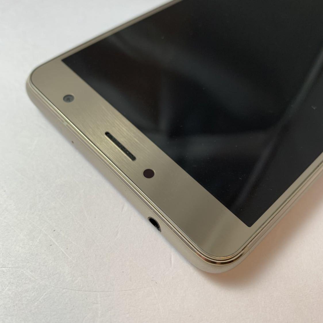 ASUS Zenfone 3 Deluxe 5.5 ZS550KL 64GB SIMフリー 本体 Z01FD ゴールド 海外版_画像5
