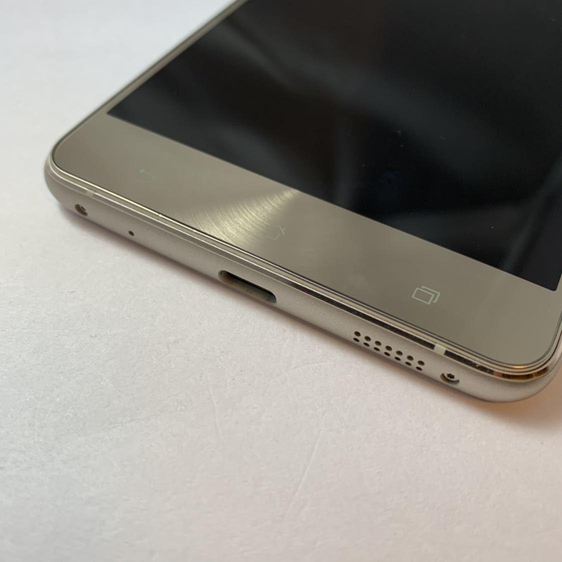 ASUS Zenfone 3 Deluxe 5.5 ZS550KL 64GB SIMフリー 本体 Z01FD ゴールド 海外版_画像4