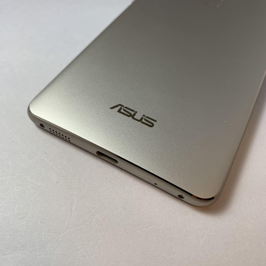 ASUS Zenfone 3 Deluxe 5.5 ZS550KL 64GB SIMフリー 本体 Z01FD ゴールド 海外版_画像2