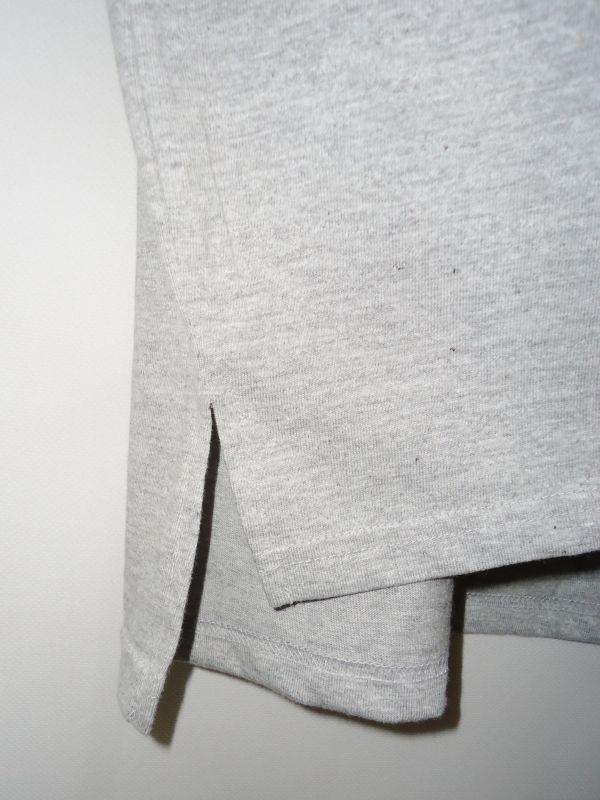 【送料無料】Aphex Twin 杢グレー ロング丈 Tシャツ【新品未使用】Unitedathle 5.6オンス エイフェックス・ツイン ロゴ Mサイズ テクノ 灰_画像7