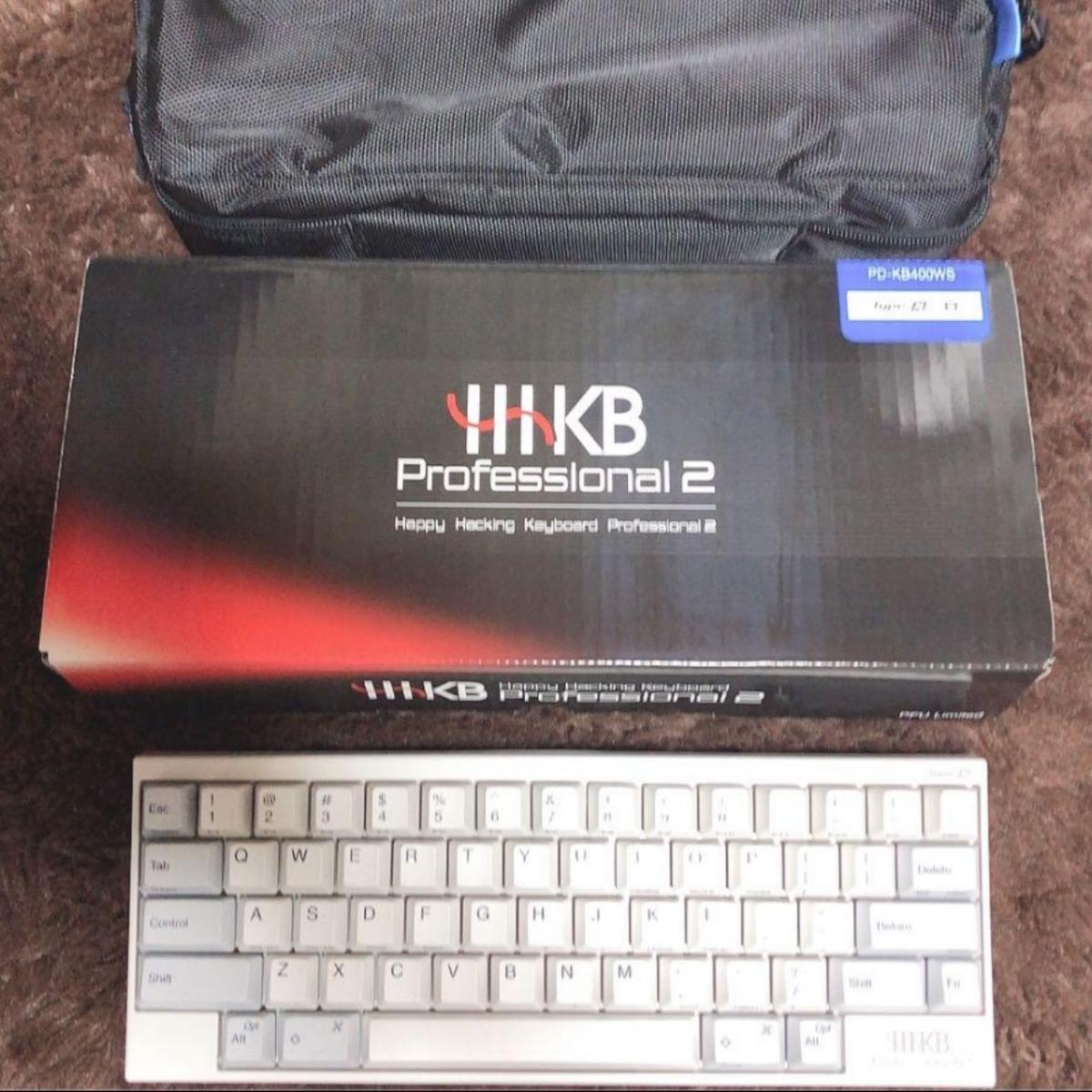 中古美品 PFU HHKB Type-S PD-KB400WS Happy Hacking Keyboard Professional2