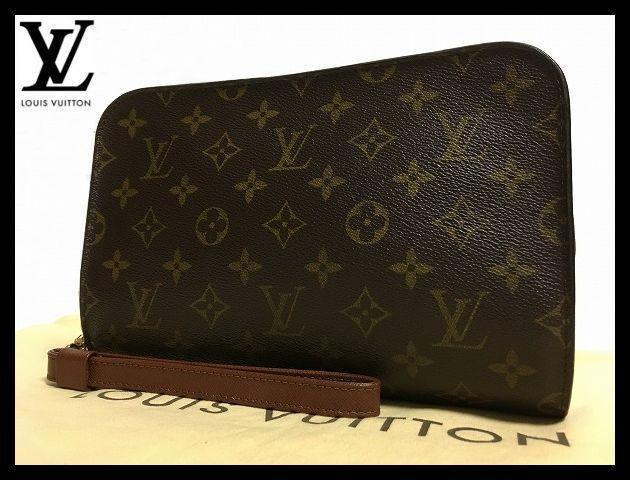 ★☆【超美品!! / ベタ無】ルイヴィトン Louis Vuitton モノグラム オルセー セカンドバッグ クラッチバッグ メンズ かばん 鞄 M51790☆★