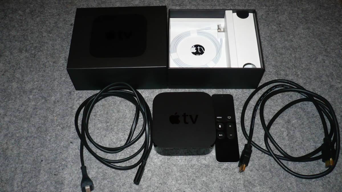【美品】Apple TV 第4世代 32GB A1625