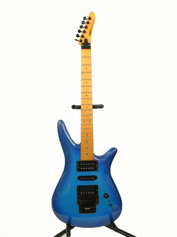 1676 YAMAHA ヤマハ MG-MⅡBSB エレキギター ブルー B`Z松本 動作確認済_画像2