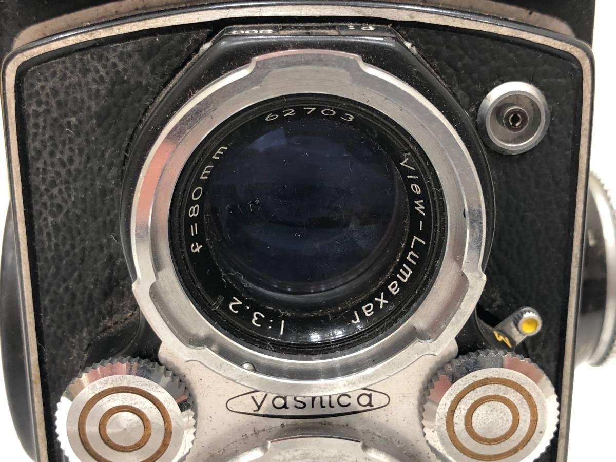 【895】二眼カメラ Yashica-mat ヤシカマット 中古品 専用ケース・検査証付き_画像2