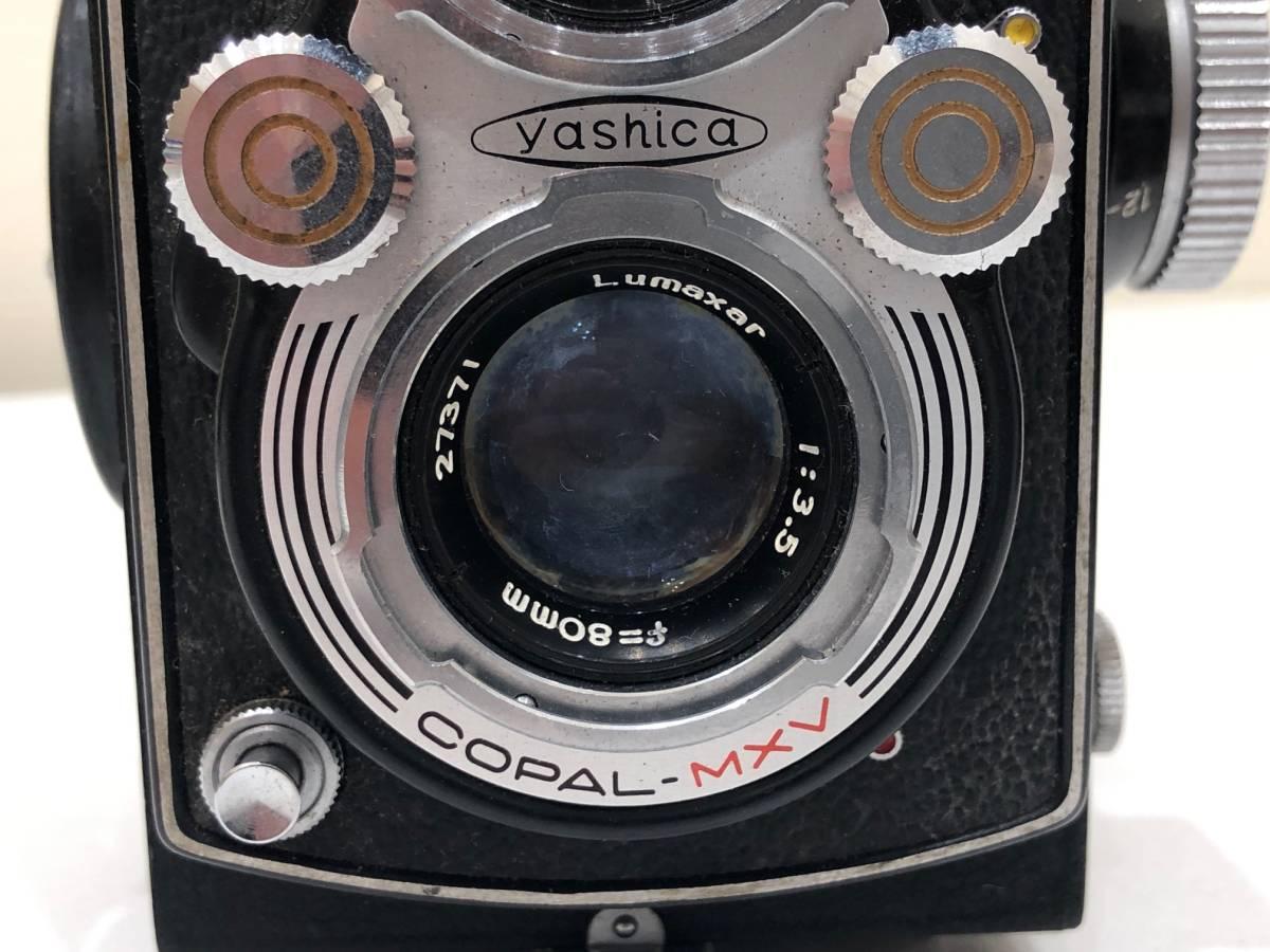 【895】二眼カメラ Yashica-mat ヤシカマット 中古品 専用ケース・検査証付き_画像3