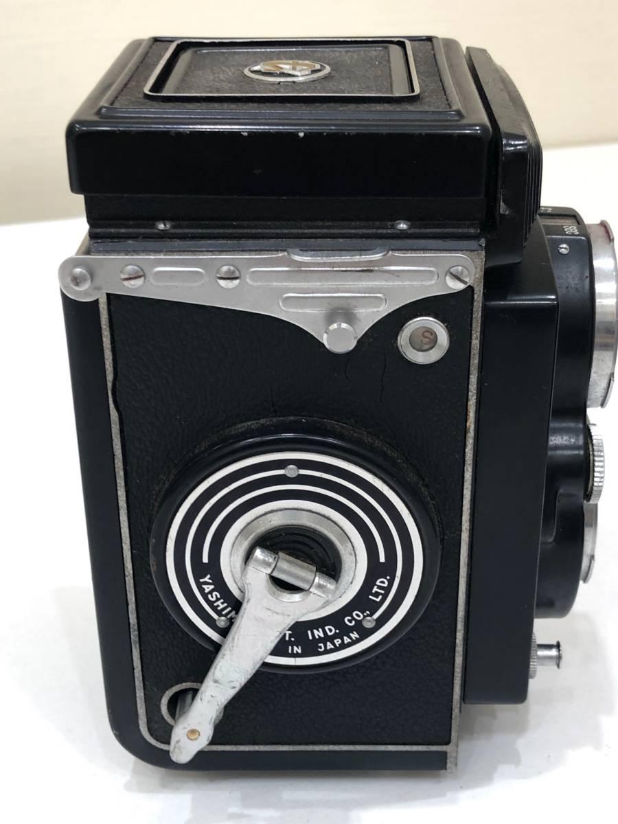 【895】二眼カメラ Yashica-mat ヤシカマット 中古品 専用ケース・検査証付き_画像5