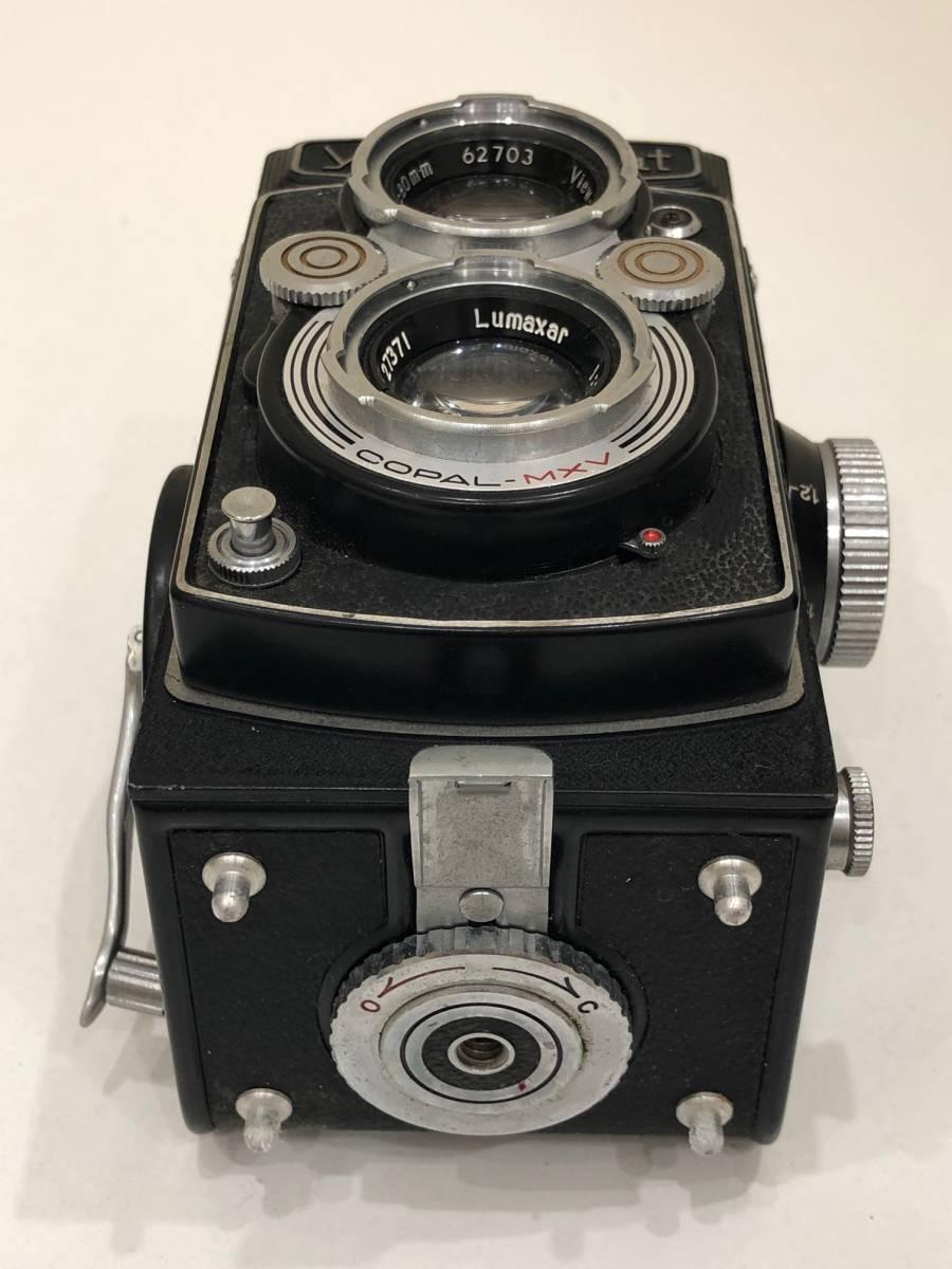 【895】二眼カメラ Yashica-mat ヤシカマット 中古品 専用ケース・検査証付き_画像8