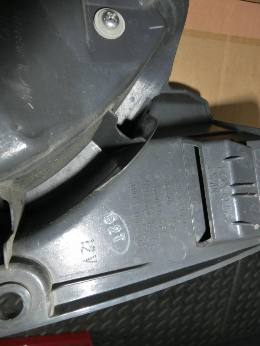 200系 ハイエース 4型純正テールランプ 左右セット_画像5