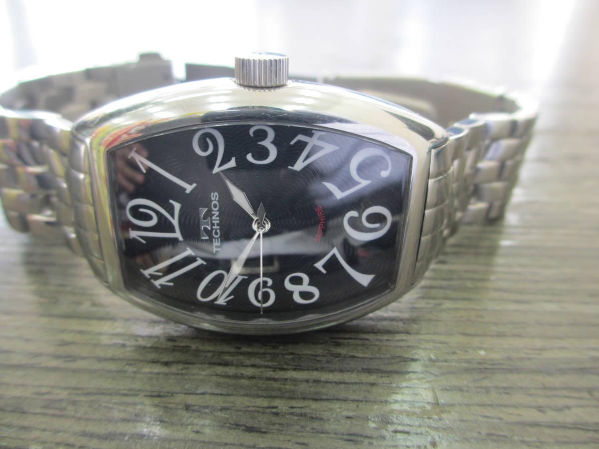 TECHNOS/テクノス/SAPPHIRE/T4427/腕時計/電池交換済み_画像10