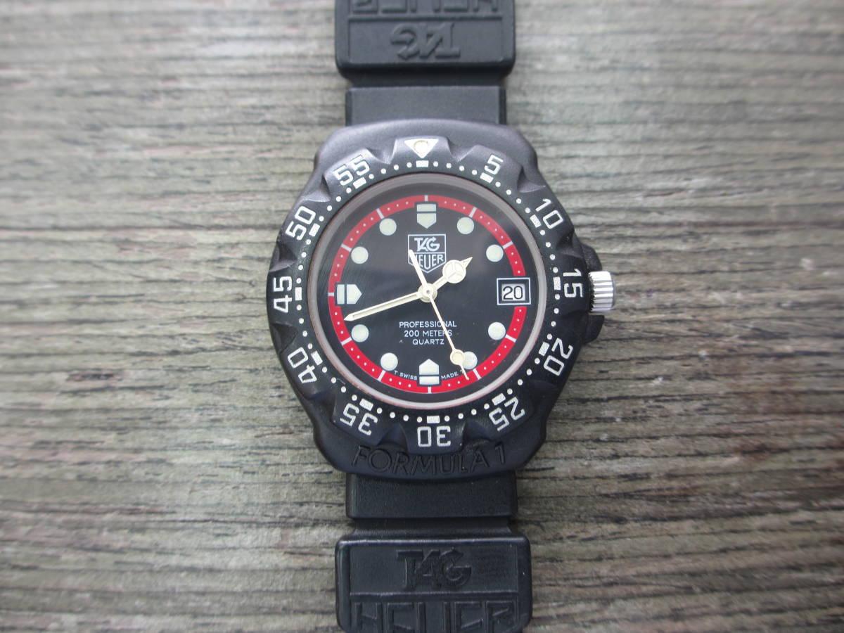 TAG HEUER/タグホイヤー/FORMULA1/フォーミュラ 1/クォーツ 腕時計/383.519/1/電池交換済み/USED