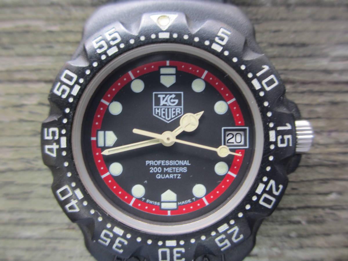 TAG HEUER/タグホイヤー/FORMULA1/フォーミュラ 1/クォーツ 腕時計/383.519/1/電池交換済み/USED_画像2