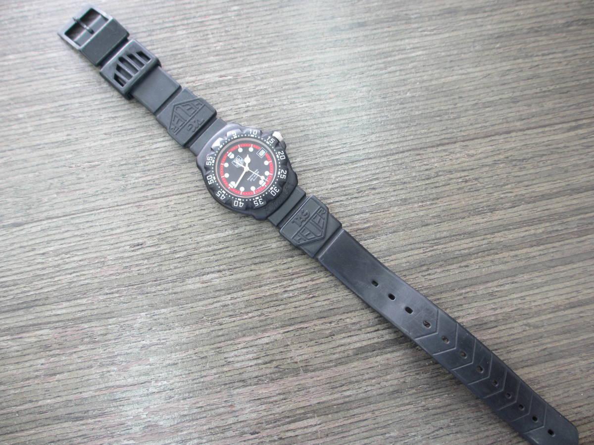 TAG HEUER/タグホイヤー/FORMULA1/フォーミュラ 1/クォーツ 腕時計/383.519/1/電池交換済み/USED_画像3