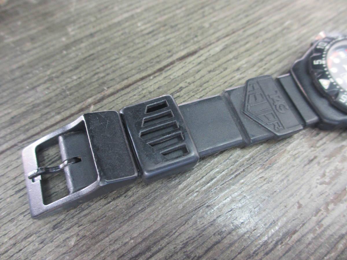 TAG HEUER/タグホイヤー/FORMULA1/フォーミュラ 1/クォーツ 腕時計/383.519/1/電池交換済み/USED_画像9