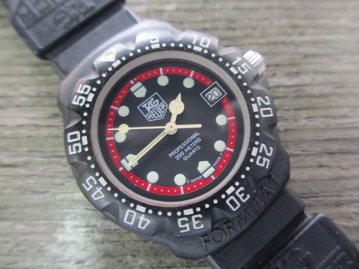 TAG HEUER/タグホイヤー/FORMULA1/フォーミュラ 1/クォーツ 腕時計/383.519/1/電池交換済み/USED_画像10