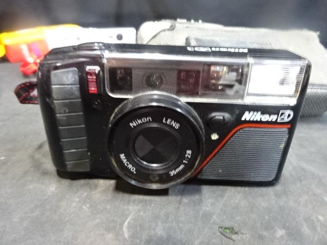 BO-62/Nikonニコン AD MINOLTAミノルタ capios75コンパクトフィルムカメラ 京セラFinecam L3Vデジカメ等まとめて ジャンク_画像7