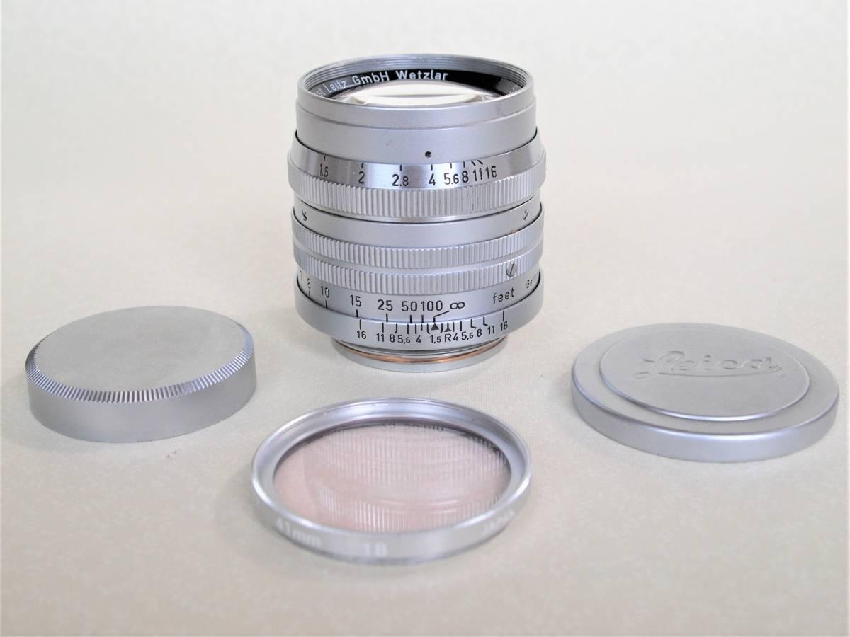 LEICA ライカ ズマリット 50mm f:1.5 メンテナンス済