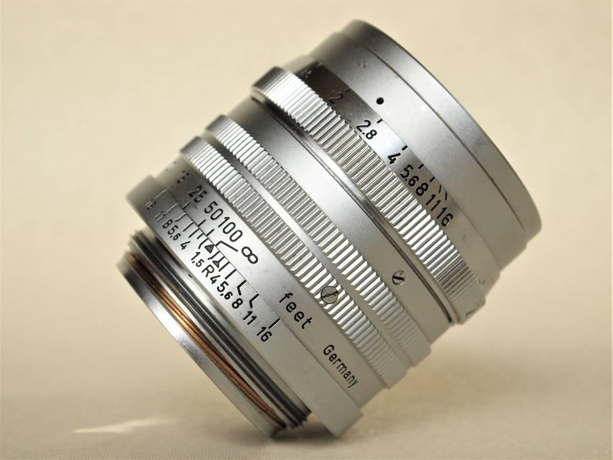LEICA ライカ ズマリット 50mm f:1.5 メンテナンス済_画像7