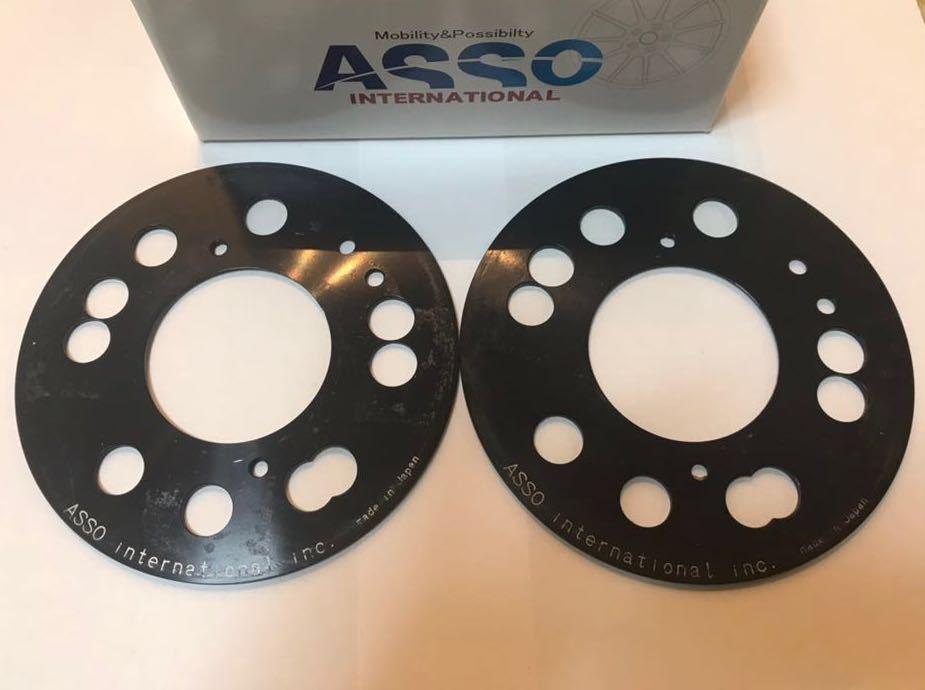 CervoPiede マルチフィッティングスペーサー 4-5H/98 3mm for Alfa Romeo147/156/GT/GTA/MiTo/Fiat500/ABARTH500/アバルト フィアット