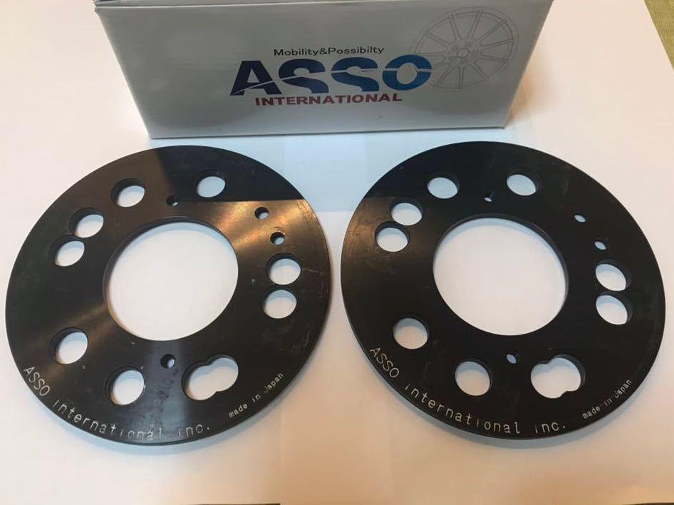 CervoPiede マルチフィッティングスペーサー 4-5H/98 6mm for Alfa Romeo147/156/GT/GTA/MiTo/Fiat500/ABARTH500/アバルト フィアット