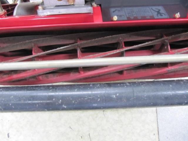 超美品 共栄社バロネス グリーンモア エンジン芝刈機 LM22GF BARONESS 芝刈り機 【点検整備済】使用期間短い 巾55cm_画像8