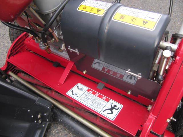 超美品 共栄社バロネス グリーンモア エンジン芝刈機 LM22GF BARONESS 芝刈り機 【点検整備済】使用期間短い 巾55cm_画像10