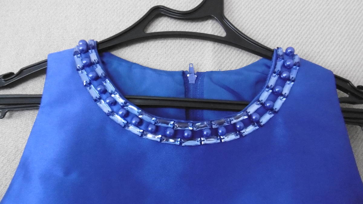 <試着のみ>発表会などに、ブルーのドレス _画像2