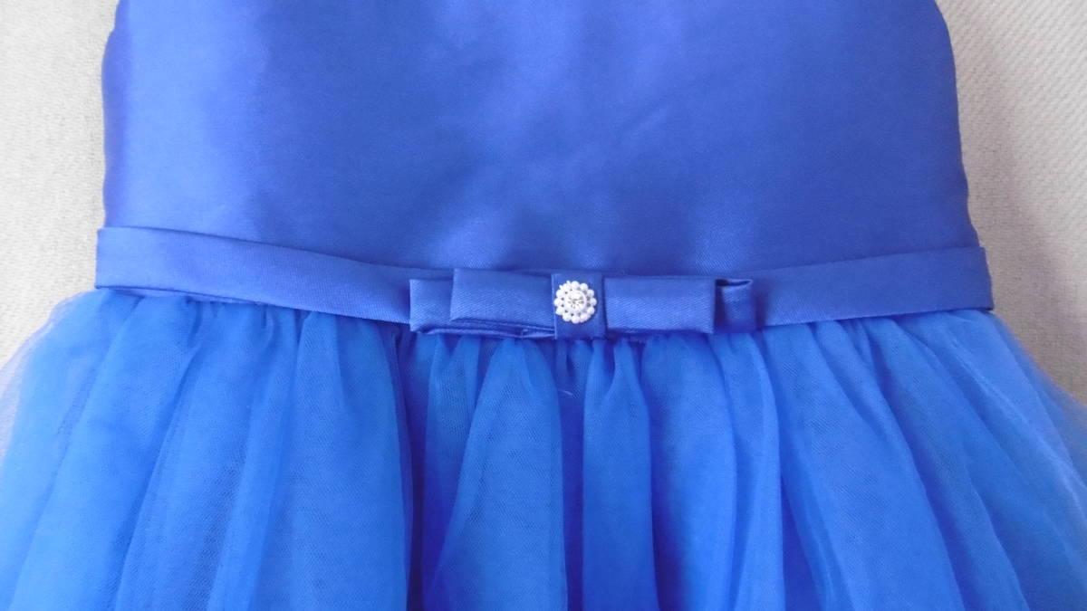 <試着のみ>発表会などに、ブルーのドレス _画像3