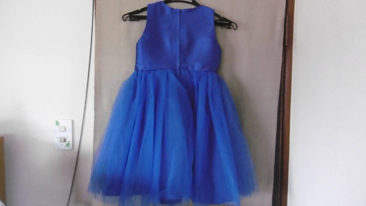 <試着のみ>発表会などに、ブルーのドレス _画像4