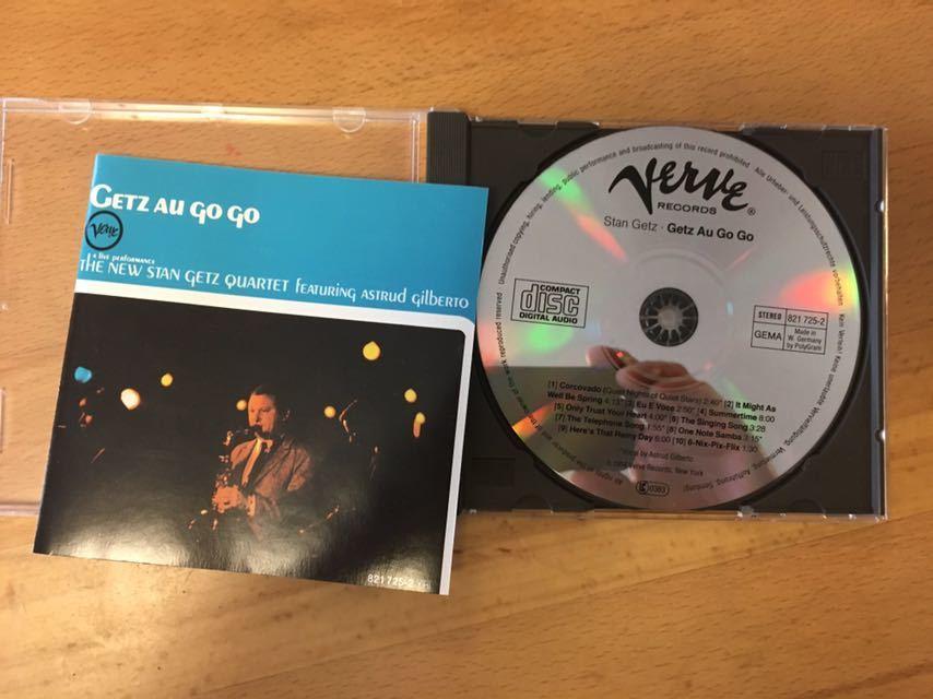 (西独盤) Stan Getz Featuring Astrud Gilberto / Getz Au Go Go スタン・ゲッツ、アストラッド・ジルベルト(Made in West Germany)