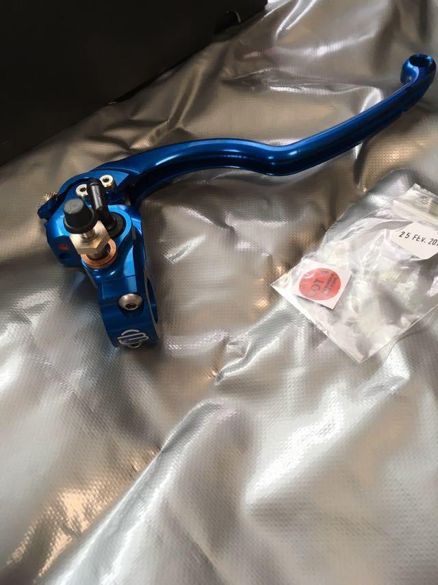 ベルリンガー ラジアルマスター 20.5φ ブルー BR14-4BL 1円スタート_画像5