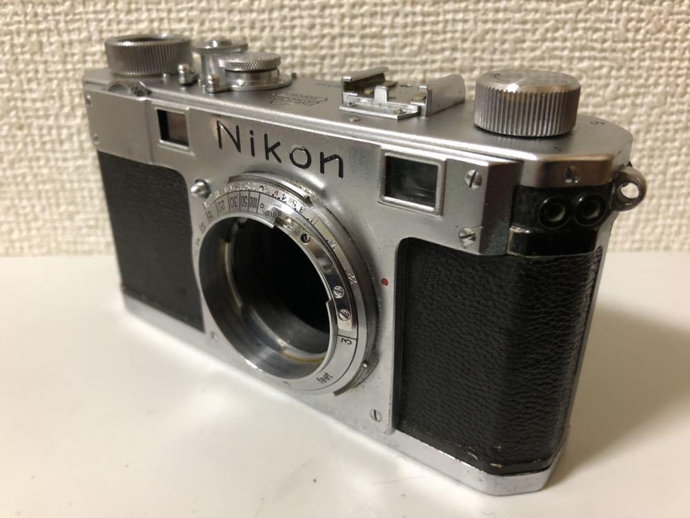Nikon S ニコン Sマウント 日本光学東京 Nippon Kogaku Tokyo ジャンク_画像2